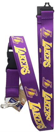 NBA - LAKERS LANYARD (PURPLE)