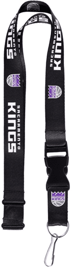 NBA-SACRAMENTO KINGS LANYARD