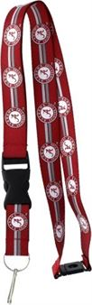 ALABAMA CRIMSON TIDE LANYARDS