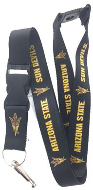 ARIZONA SUN DEVILS LANYARD (BLACK)