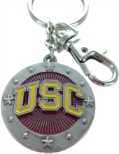 CALIFORNIA USC TROJANS KEY CHAIN