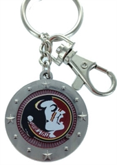 FLORIDA SEMINOLES KEY CHAIN
