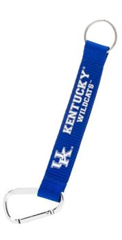 KENTUCKY WILDCATS CARBINER LANYARD