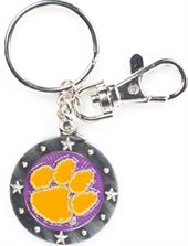 SOUTH CAROLINA CLEMSON KEY CHAIN