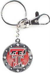 TEXAS TECH RED RAIDERS KEY CHAIN