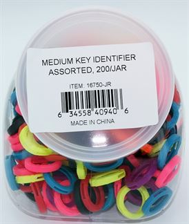MEDIUM KEY IDENTIFIER ASST 200/JAR