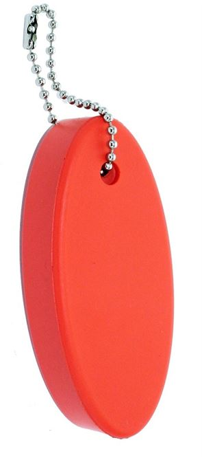 FLOATING KEYCHAIN, ORANGE