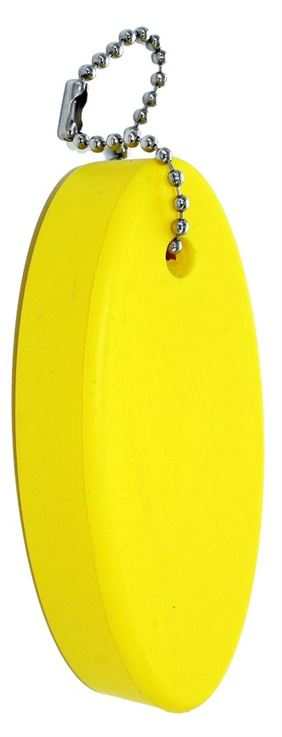 FLOATING KEYCHAIN, YELLOW