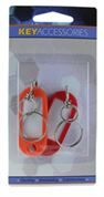 KEY TAG WITH SWIVEL RING, 2/CD