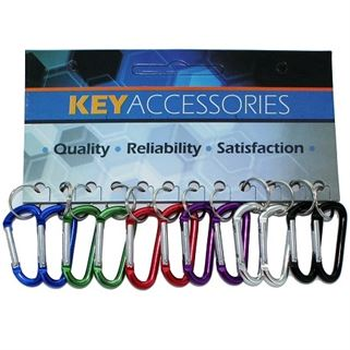 SMALL CARABINER ASSORTED, 12/CD