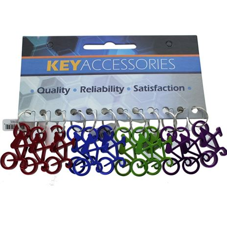 BIKE BOTTLE OPENER, 12/CARD
