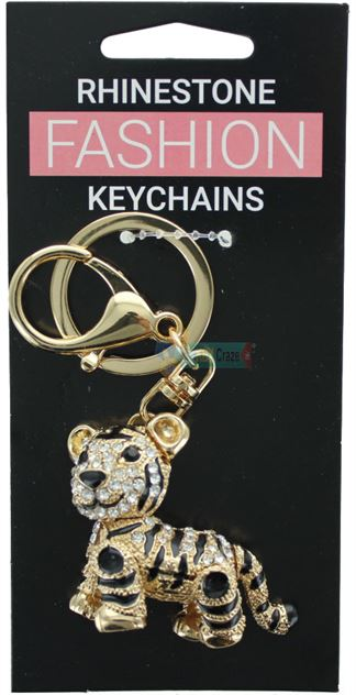 TIGER FASHION KEYRING ASSORTED