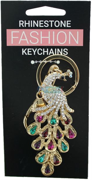 PEACOCK FASHION KEYRING