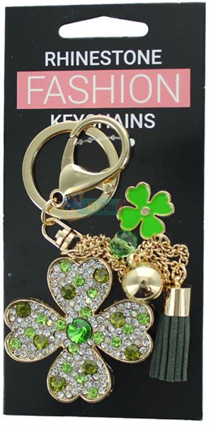 CLOVER LEAF FASHION KEYRING