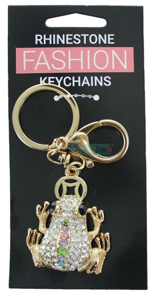 FROG FASHION KEYRING