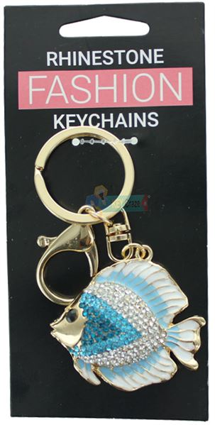 FISH FASHION KEYRING