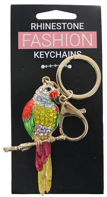 PARROT FASHION KEYRING
