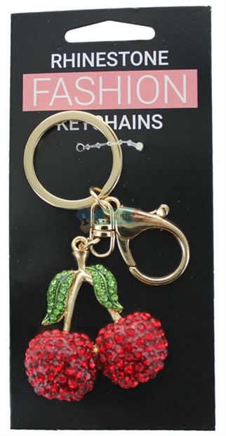 CHERRIES FASHION KEYRING