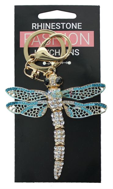 DRAGON FLY FASHION KEYRING
