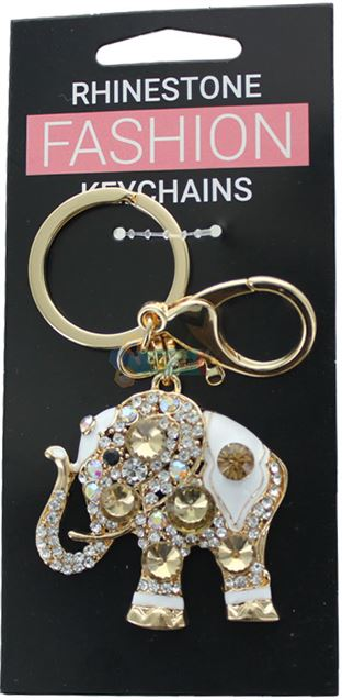 ELEPHANT FASHION KEYRING