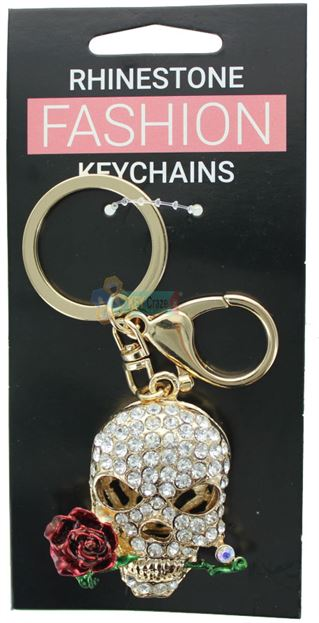 SKULL FASHION KEYRING