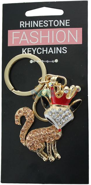 FOX FASHION KEYRING - (OUT OF STOCK)
