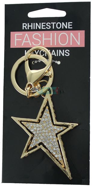 STAR FASHION KEYRING