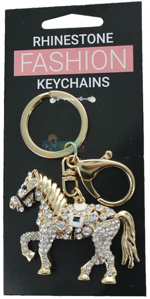 HORSE FASHION KEYRING