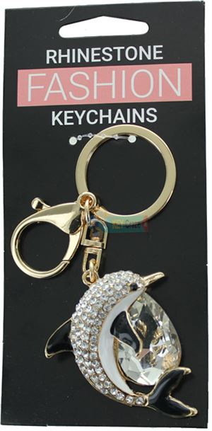 DOLPHIN FASHION KEYRING ASSORTED