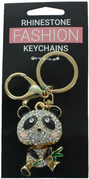 PANDA FASHION KEYRING