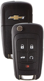 STRATTEC 5 BUTTON GM FLIP KEY