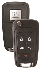 STRATTEC 5 BUTTON FLIP 2010 - 2019 GM