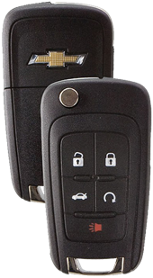 STRATTEC 5 BUTTON GM CLIP KEY