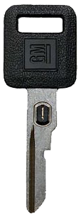GM Single-Sided VATS Key GM LOGO B62-P-1