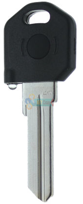 KW1 KEY LIGHT - BLACK KEY WITH YELLOW LIGHT