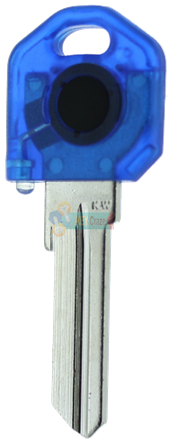 KW1 KEY LIGHT - BLUE KEY WITH BLUE LIGHT