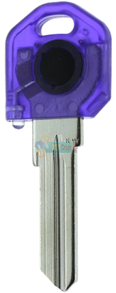KW1 KEY LIGHT - PURPLE KEY WITH RED LIGHT