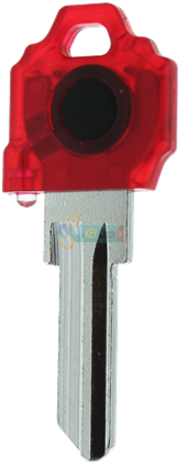 SC1 KEY LIGHT - RED KEY WITH RED LIGHT