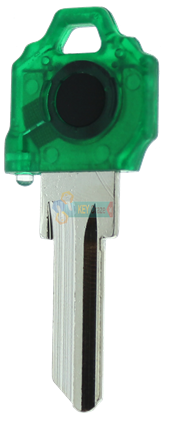 SC1 KEY LIGHT - GREEN KEY WITH GREEN LIGHT