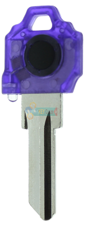 SC1 KEY LIGHT - PURPLE KEY WITH RED LIGHT