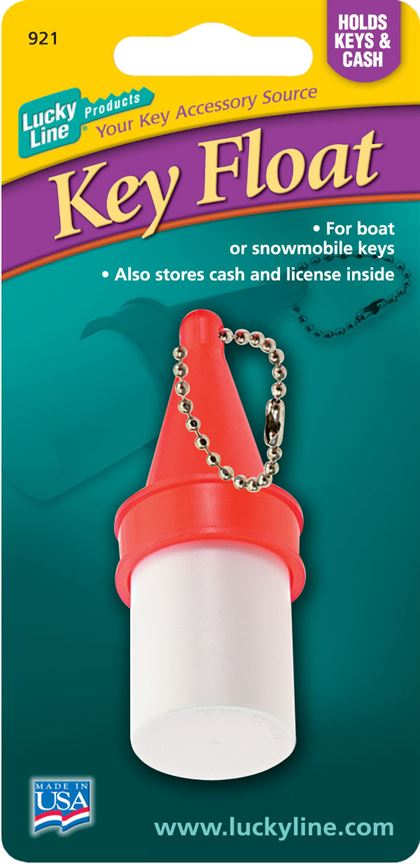 KEY BUOY W/BALL CHAIN,1/CD