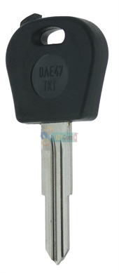 DAEWOO BDW05T5 TRANSPONDER KEY - SHELL ONLY