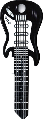 WR5 BLACK GUITAR KEY