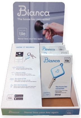BIANCA SMART KEY BY TILE