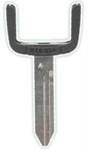 CHRYSLER DODGE JEEP MITSUBISHI KEY BLADE
