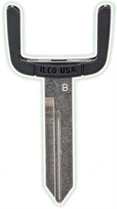FORD LINCOLN MAZDA MERCURY KEY BLADE