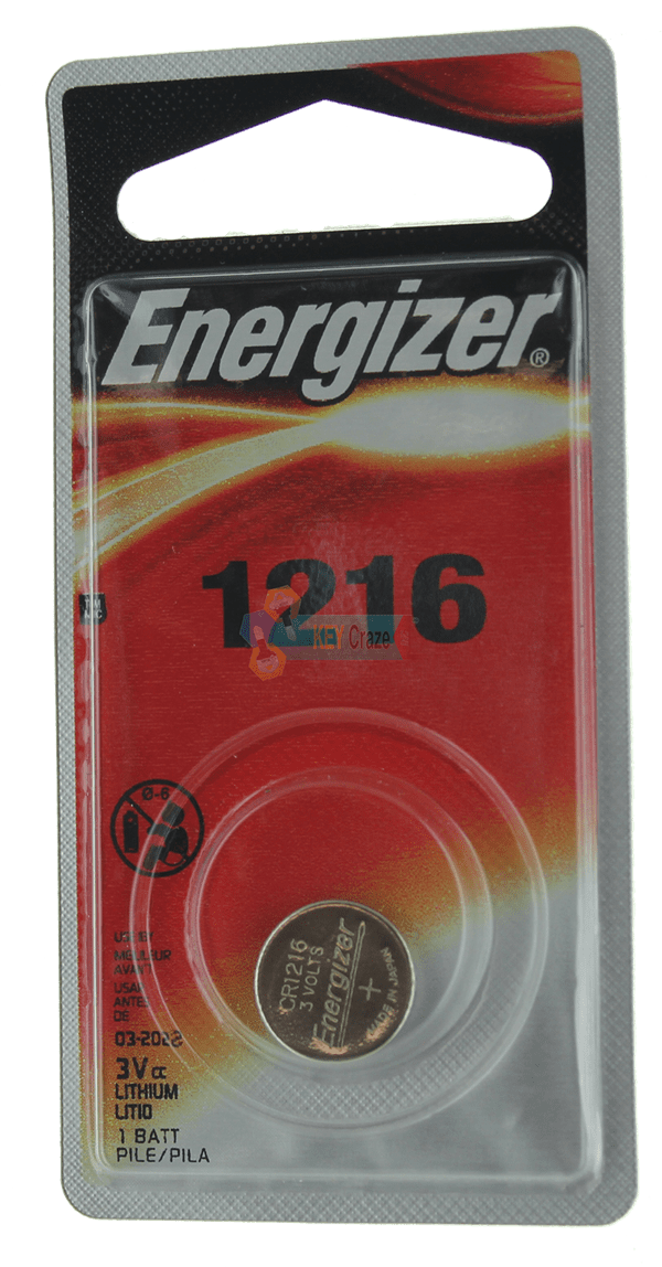 ENERGIZER CR-1216 3V / SINGLE CARDED