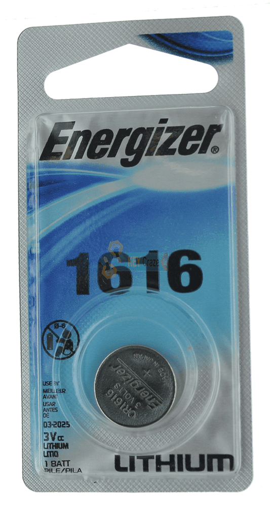 ENERGIZER CR-1616 3V / SINGLE CARDED