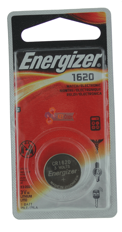 ENERGIZER CR-1620 3V / SINGLE CARDED