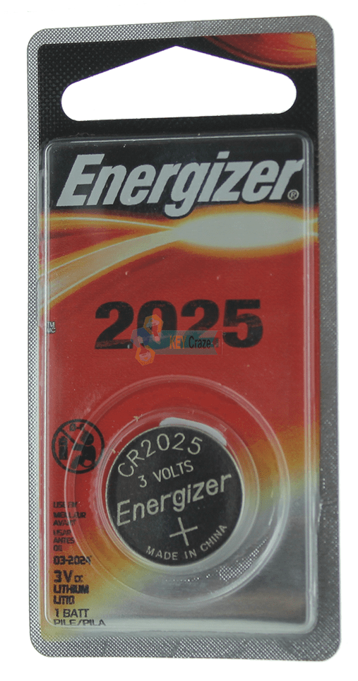ENERGIZER CR-2025 3V / SINGLE CARDED